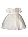 Heritage Girl`S Daisy Short Sleeve Dress. Age sizes birth - 2 years.
