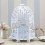 VINTAGE LACE BIRDCAGE POST BOX