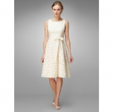 John Lewis - Phase Eight Daisy Embroidered Prom Style Wedding Dress
