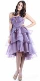 ARIELLA ELIZE RUFFLED LAYER SHORT DRESS