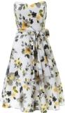 ARIELLA AMBER CRINKLED CHIFFON SHORT DRESS