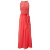ARIELLA RACHEL LACE BUST AND CHIFFON SKIRT LONG DRESS