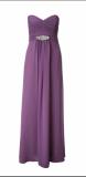ARIELLA JAIDA STRAPLESS CHIFFON LONG DRESS