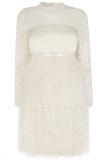 Coast Cherish Feather Wedding Dress