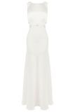 Coast Tobey Crepe Maxi Wedding Dress