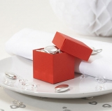 Red Wedding Favour Boxes