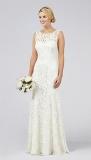 Debenhams - Debut Elaine Lace Bridal Dress