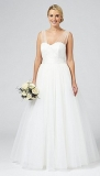 Debenhams - Ben De Lisi Occasion Ivory 'Princess' wedding dress