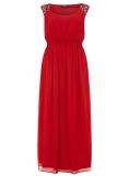 Evans - SCARLETT & JO RED EMBELLISHED DRESS