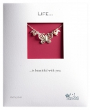 Lily Charmed - Butterfly Necklace with Pearls