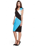 Marks and Spencer - Speziale Colour Block Shift Dress with Modal