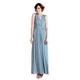 John Lewis - Bridesmaid Samantha Full Length Dress, Duck Egg