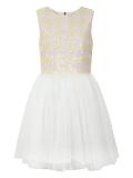 House of Fraser - Yumi Girls Girl`S Sequin Daisy And Mesh Dress
