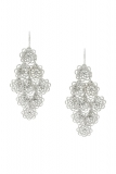 Bonmarche - Flower Cascade Earrings
