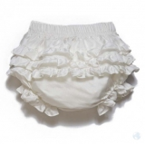 ilovegorgeous - Frilly Silk Knickers - Cream