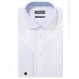 John Lewis - John Lewis Luxury Royal Oxford Shirt with Cufflink