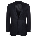 John Lewis - John Lewis - Aquascutum Herringbone Twill Wool Wedding Suit Jacket, Navy