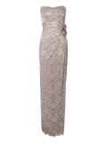 Jane Norman - Jane Norman Lace Bandeau Corsage Maxi Dress