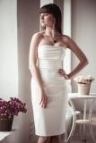 Etsy - Etsy - Fitted style short wedding dress M6 by ApilatCreativeAtelie