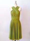 Etsy - Etsy - Olive Green Infinity Bridesmaid Dress by AtomAttire