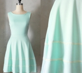 Etsy - Etsy - Light pastel green bridesmaid dress with pockets by FleetCollection