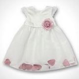 Debenhams - Baby's rose petal hem dress
