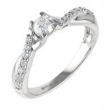 Ernest Jones - Platinum half carat diamond solitaire ring