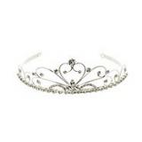 Debenhams - Girl's silver diamante tiara