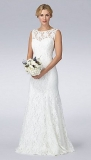 Debenhams - Debut Ivory lace wedding dress