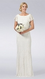 Debenhams - Debut Ivory hand-embellished wedding dress