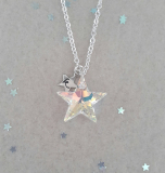 Zoe Hearts - Twinkle Crystal AB Necklace