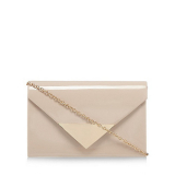 Debenhams Call It Spring Natural 'Zignago' clutch bag
