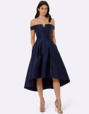 FOREVER NEW BARDOT HIGH LOW PROM DRESS
