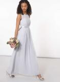 Dorothy Perkins - Showcase Dove Grey Natalie Maxi Dress
