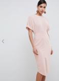 ASOS DESIGN Wiggle Midi Dress