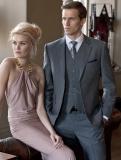 Brook Taverner - Mid Grey Oakhurst Flannel Suit