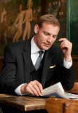 Brook Taverner - Black Avalino Suit