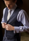 Brook Taverner - Stokesay Three Piece Suit Waistcoat