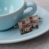 Not On The High Street.com - Las Vegas Cufflinks