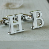 Not On The High Street.com - Initial Cufflinks