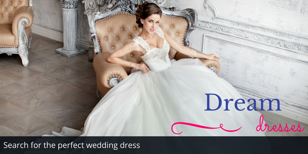 Search for the perfect wedding dress