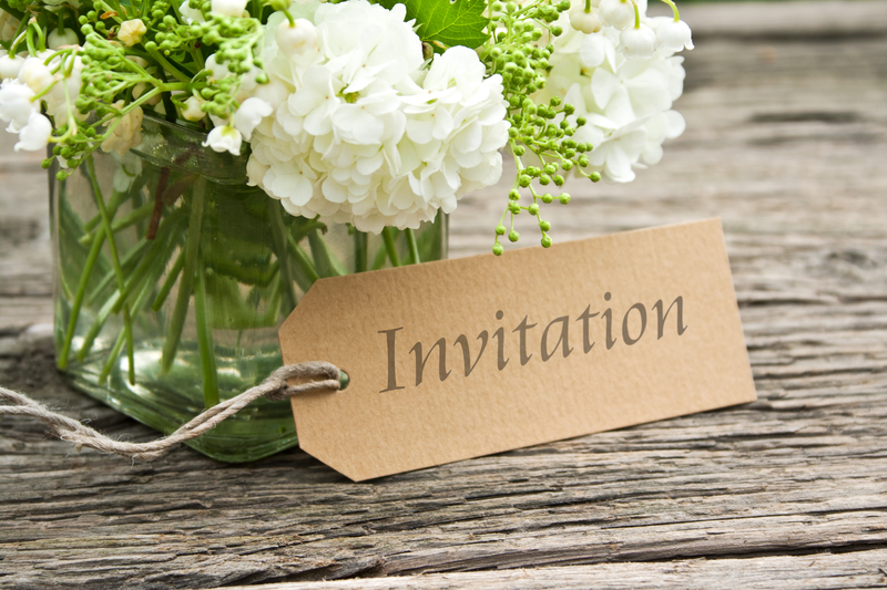 Paper Invitation Alternatives
