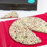 Party Food - Gourmet Chocolate Pizza Co. Jelly Bean Jumble