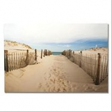 Printed canvas Walk to the beach wall art