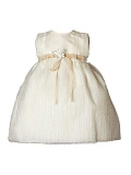 Heritage Girl`S Jasmine Sleeveless Dress. Age sizes birth - 2 years.