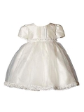 Heritage Girl`S Daisy Short Sleeve Dress. Age sizes birth - 2 years.