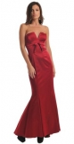 ARIELLA PENELOPE STRAPLESS LONG DRESS