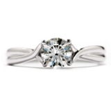 HEARTS ON FIRE SIMPLY BRIDAL RING