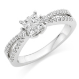 ENGAGEMENT CLUSTER RING