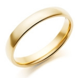 FAIRTRADE AND FAIRMINED 18CT GOLD COURT WEDDING RING